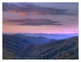 Newfound Gap, Great Smoky Mountains National Park, North Carolina Poster by Tim Fitzharris