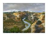 Yampa River flowing through canyons, Dinosaur National Monument, Colorado Prints by Tim Fitzharris
