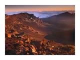 Rock of Haleakala Crater, Haleakala National Park, Maui, Hawaii Posters by Tim Fitzharris