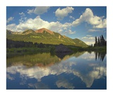 Avery Peak reflected in beaver pond, San Juan Mountains, Colorado Posters by Tim Fitzharris