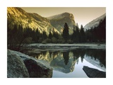 Mt Watkins reflected in Mirror Lake, Yosemite National Park, California Prints by Tim Fitzharris