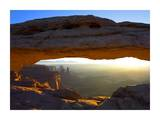 Mesa Arch at sunset from the Mesa Arch Trail, Canyonlands National Park, Utah Prints by Tim Fitzharris