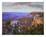 Wotan's Throne from South Rim, Grand Canyon National Park, Arizona Posters by Tim Fitzharris