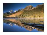 Teton Range reflecting in String Lake, Grand Teton National Park, Wyoming Prints by Tim Fitzharris