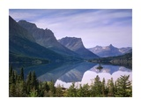 Wild Goose Island in St Mary's Lake, Glacier National Park, Montana Poster by Tim Fitzharris