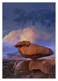 Balancing rock formation, Guadalupe Mountains National Park, Texas Posters by Tim Fitzharris