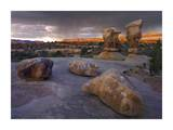 Devil's Garden sandstone formations, Escalante National Monument, Utah Art by Tim Fitzharris