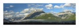 Panoramic view of Mt Kidd, Kananaskis Country, Alberta, Canada Prints by Tim Fitzharris