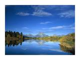Mt Moran reflected in Oxbow Bend, Grand Teton National Park, Wyoming Prints by Tim Fitzharris