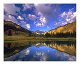 Haystack Mountain reflected in beaver pond, Maroon Bells, Snowmass Wilderness, Colorado Prints by Tim Fitzharris