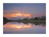 Storm clouds over South Llano River, South Llano River State Park, Texas Prints by Tim Fitzharris