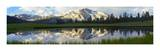 Panorama of Mammoth Peak and Kuna Crest, Yosemite National Park, California Print by Tim Fitzharris