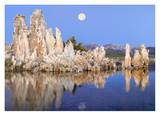 Full moon over Mono Lake, California Posters by Tim Fitzharris