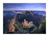 Wotans Throne from Cape Royal, North Rim, Grand Canyon National Park, Arizona Prints by Tim Fitzharris