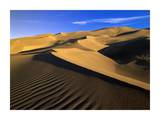 750 foot tall sand dunes, tallest in North America, Great Sand Dunes National Monument, Colorado Prints by Tim Fitzharris