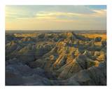 White River Overlook, Badlands National Park, South Dakota Print by Tim Fitzharris