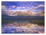 Mount Chephren reflected in Waterfowl Lake, Banff National Park, Alberta, Canada Art by Tim Fitzharris