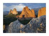 Gray Rock and South Gateway Rock, Garden of the Gods, Colorado Springs, Colorado Prints by Tim Fitzharris