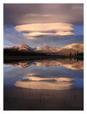 Lenticular Clouds, Tuolumne Meadows, Yosemite National Park, California Print by Tim Fitzharris