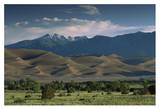 Sand Dunes, Sangre de Cristo Mountains, Great Sand Dunes National Monument, Colorado Prints by Tim Fitzharris