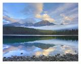 Pyramid Mountain reflected in Patricia Lake, Jasper National Park, Alberta, Canada Prints by Tim Fitzharris