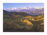 Panamint Range from Zabriskie Point, Death Valley National Park, California Posters by Tim Fitzharris