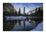 El Capitan and the Merced River, Yosemite NP, California Art by Tim Fitzharris