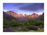 Towers of the Virgin, Zion National Park, Utah Posters by Tim Fitzharris