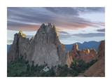 Gray Rock and South Gateway Rock, Garden of the Gods, Colorado Prints by Tim Fitzharris