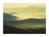 Shining Rock Wilderness from the Blue Ridge Parkway, North Carolina Print by Tim Fitzharris