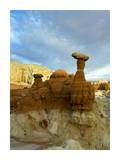 Toadstool Caprocks, Grand Staircase, Escalante National Monument, Utah Posters by Tim Fitzharris