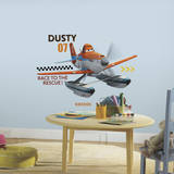 Disney - Planes Fire & Rescue Dusty Wall Decal Autocollant mural