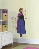 Disney - Frozen's Anna with Cape Wall Decal Wallstickers