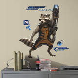 Marvel - Guardians of the Galaxy Raccoon Wall Decal Autocollant mural