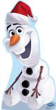 Olaf Santa Hat - Disney's Frozen Lifesize Standup Cardboard Cutouts