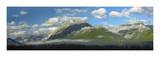 Panoramic view of Mt Kidd, Kananaskis Country, Alberta, Canada Poster by Tim Fitzharris