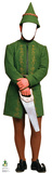 Male Elf Stand-In - Elf Lifesize Standup Cardboard Cutouts