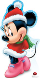 Minnie Mouse Holiday - Disney Lifesize Standup Cardboard Cutouts