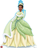 Tiana Holiday - Disney Lifesize Standup Cardboard Cutouts