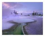 Hot spring, Upper Geyser Basin, Yellowstone National Park, Wyoming Art by Tim Fitzharris