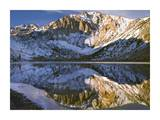 Laurel Mountain and Convict Lake in winter, eastern Sierra Nevada, California Prints by Tim Fitzharris