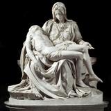 Pieta by Michelangelo Buonarroti Photographic Print
