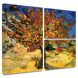 Mulberry Tree Gallery-Wrapped Canvas Gallery Wrapped Canvas Set by Vincent van Gogh