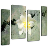 Urban Attitude 4 piece gallery-wrapped canvas Stretched Canvas Print by Mark Ross