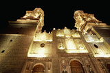 Catedral De Morelia at Night Photographic Print by Macduff Everton