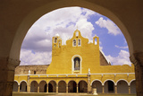 Courtyard of Monastery at Izamal Photographic Print by Stuart Westmorland