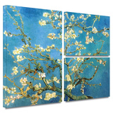 Almond Blossom Gallery-Wrapped Canvas Stretched Canvas Print by Vincent van Gogh