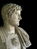 Bust of the Emperor Hadrian Photographic Print