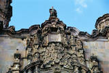 Ornate Facade of San Cayetano Church Photographic Print by Danny Lehman