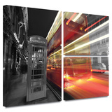 London III Gallery-Wrapped Canvas Stretched Canvas Print by Revolver Ocelot
